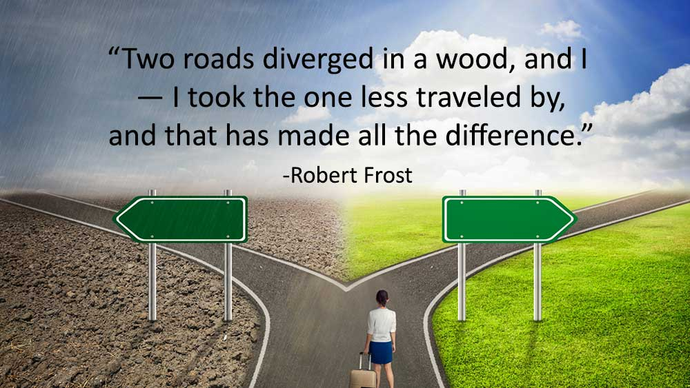 Two Roads Diverged